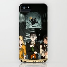 Poster: The Legend of Sleepy Hollow iPhone Case