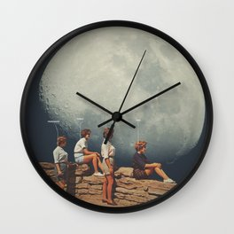 FriendsnotFriends Wall Clock