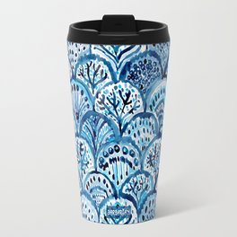 DEEP LIFE Mermaid Scales Travel Mug