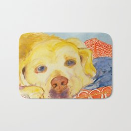 Dog Tired Bath Mat