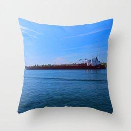 Presque Isle I Throw Pillow