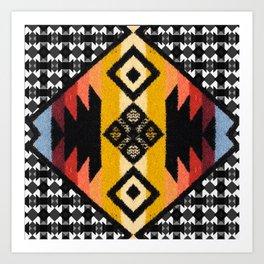 Boho Mapuche Art Print