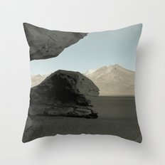 Stone tree Throw Pillow