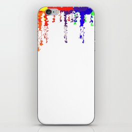 Rainbow Blood iPhone Skin