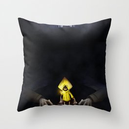 Six Little Nightmares Throw Pillow