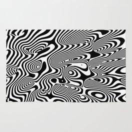 Trippy Background Rug