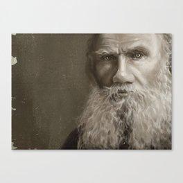 Lev Tolstoy Canvas Print