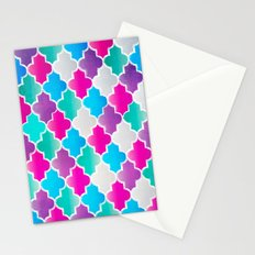 Geo-Colour Stationery Cards