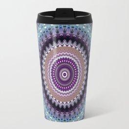 Mandala for Winter Mood Travel Mug