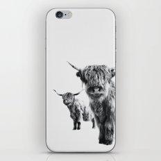 LULU & SARA - Scottish Highland Cows iPhone & iPod Skin