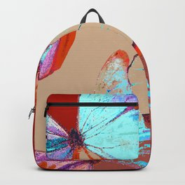 Butterflies in different colors Backpack