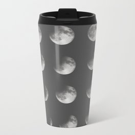 phases of the moon Metal Travel Mug