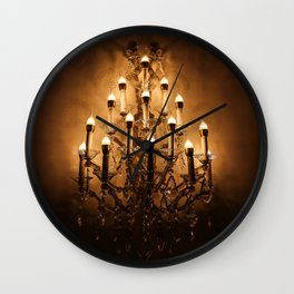 Gold Wall Chandelier Wall Clock