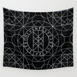Web of Wyrd  -The Matrix of Fate Wall Tapestry