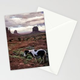 Horse in the Valley Stationery Cards