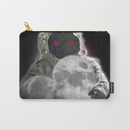 Astronaut loves the moon - Valentine Carry-All Pouch