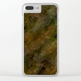 Camouflage natural design by Brian Vegas Clear iPhone Case