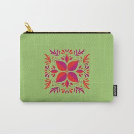 Beautiful illustration of a square with 3 colors Carry-All Pouch