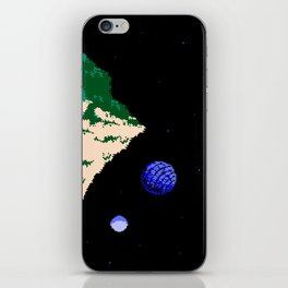 Twin Moons World iPhone Skin