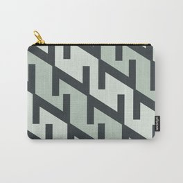 """Typographic Pattern """"Z"""" Carry-All Pouch"""