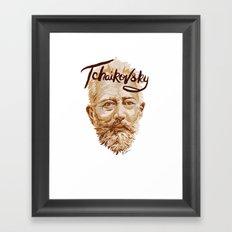 Tchaikovsky Framed Art Print