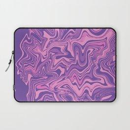 Purple & Rose Agate Laptop Sleeve