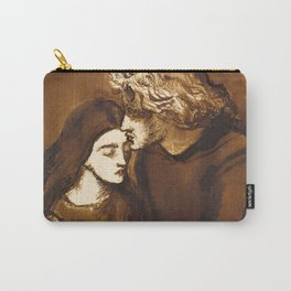 "Dante Gabriel Rossetti ""Two Lovers"" Carry-All Pouch"