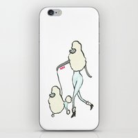 poodle iPhone & iPod Skins featuring Proudly Poodle by miba