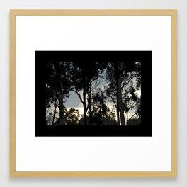 Passeo Al Mar Framed Art Print