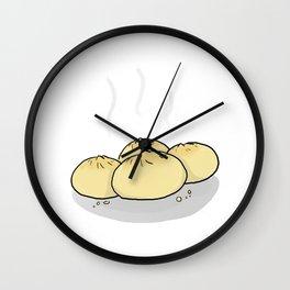 Fresh Dumplings  Wall Clock