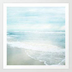 Feel the Sea Art Print