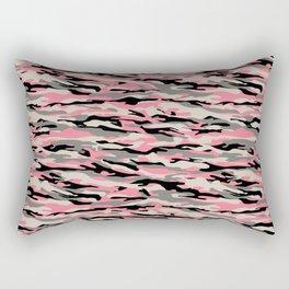 WINTER PINK CAMO Rectangular Pillow