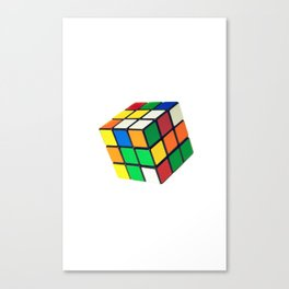 rubic cube Canvas Print