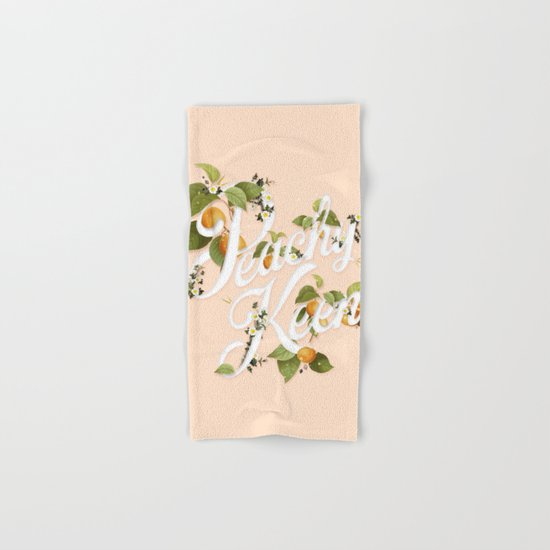 Peachy Keen : Peach Hand & Bath Towel