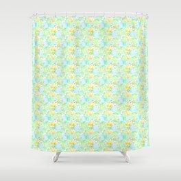 Green fruits Shower Curtain