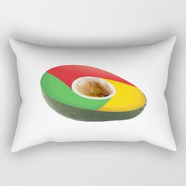 Browser Avacado Rectangular Pillow