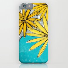 Summer Flowers Slim Case iPhone 6s