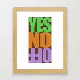 Forwords Framed Art Print