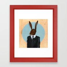 David Lynch   Rabbit Framed Art Print