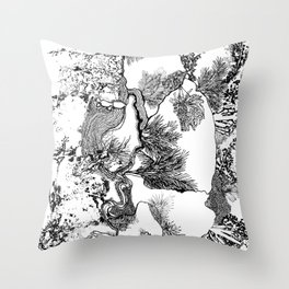 Fondale Marino Throw Pillow
