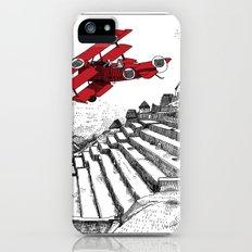asc 114 - Le Baron Rouge & son ours Darwin (La montagne où tombent les étoiles) iPhone (5, 5s) Slim Case