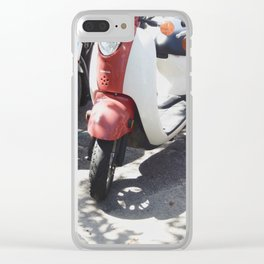Scoot Over Clear iPhone Case