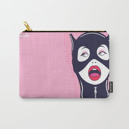 Cat Woman Carry-All Pouch
