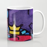 crown Mugs featuring Crown by Arcturus