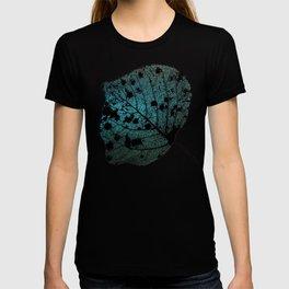 Weathered Poplar Leaf, Skeleton leaf T-shirt