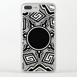 Mimbres Pottery Clear iPhone Case