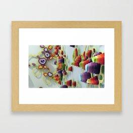 Double Diddle Evisceration Framed Art Print