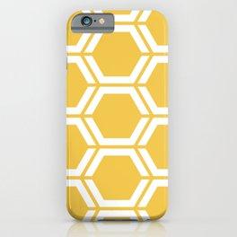 Maize (Crayola) - beige - Geometric Polygon Pattern iPhone Case