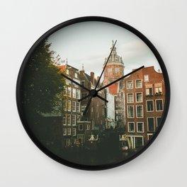Old Amsterdam Wall Clock