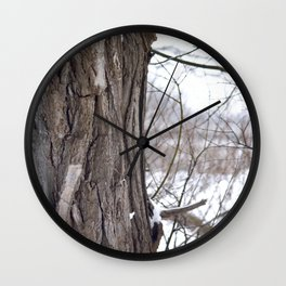 Strong Timbers Wall Clock